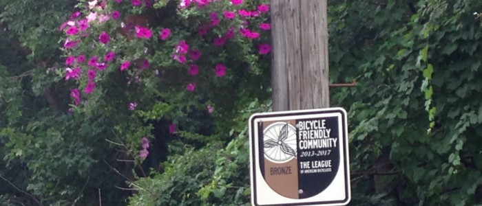 Cleveland Heights is Bicycle Friendly!